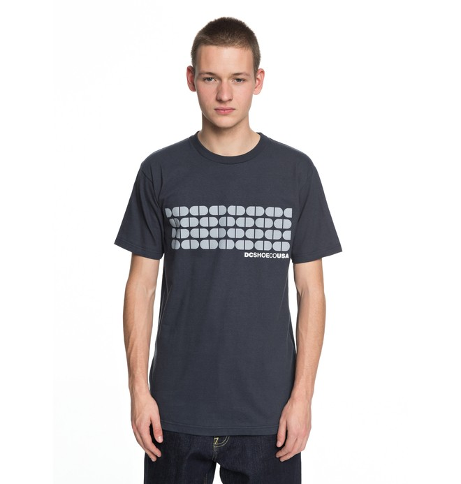 0 Men's Big Time Tee Blue ADYZT04225 DC Shoes