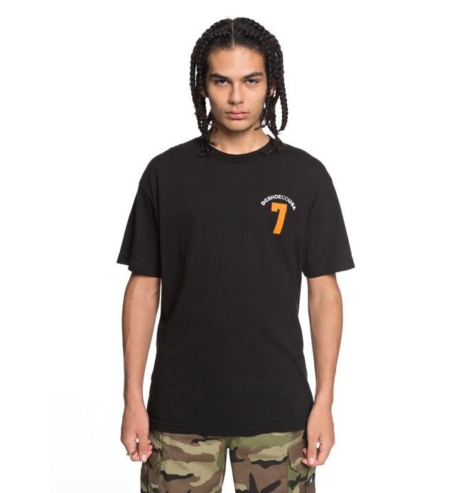 0 Lucky Seven - T-Shirt Schwarz ADYZT04256 DC Shoes