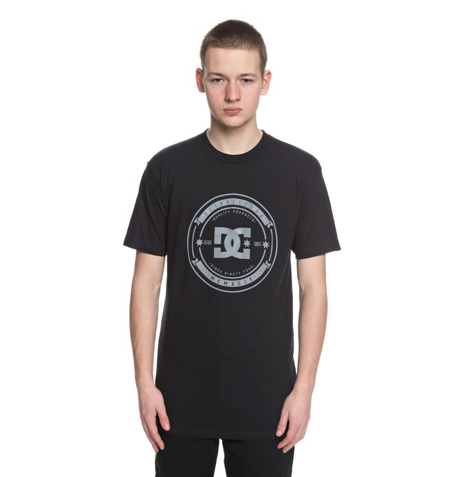 0 Brodkast - T-Shirt Black ADYZT04288 DC Shoes