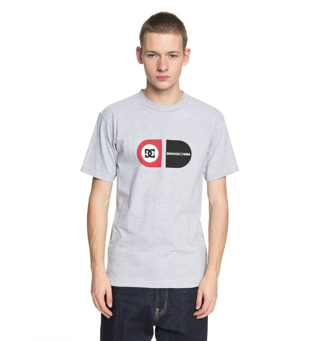0 Men's High Zenith Tee Black ADYZT04314 DC Shoes