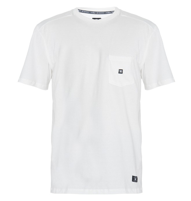 0 Camiseta Masculina Manga Curta Estampa Frontal DC Shoes  BR61142697 DC Shoes