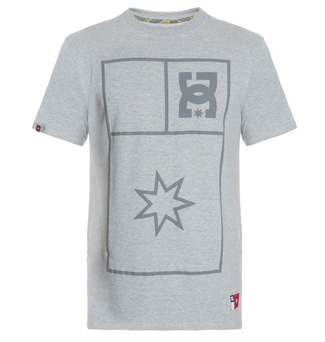 0 Camiseta Masculina Manga Curta Estampada DC Shoes  BR61142716 DC Shoes