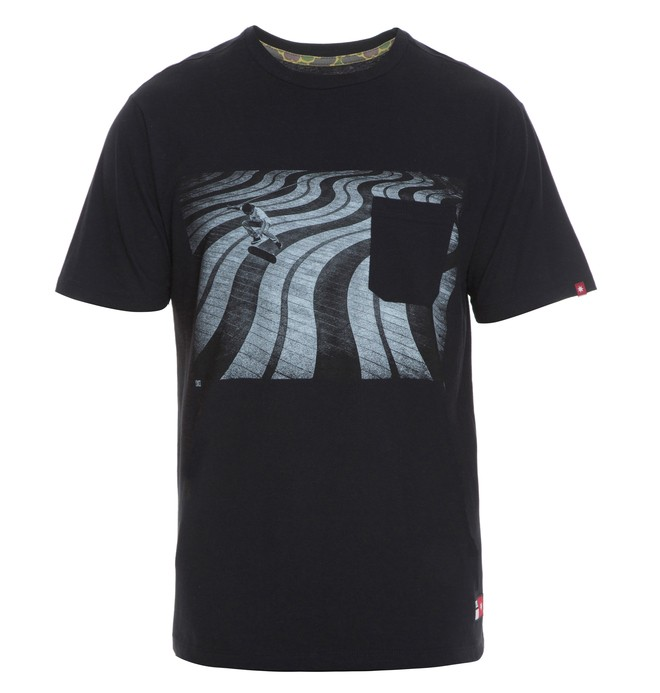 0 Camiseta Masculina Manga Curta Estampada DC Shoes  BR61142781 DC Shoes