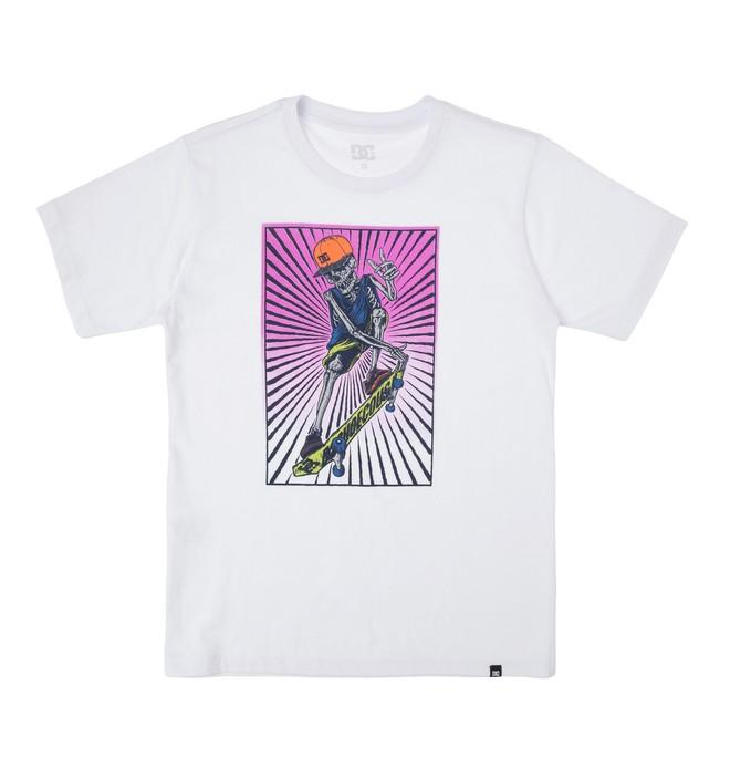 0 Camiseta Básica Juvenil Danny  BR68111926 DC Shoes