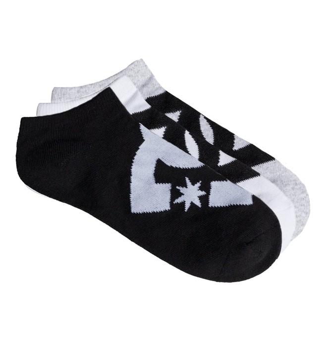 0 SPP DC 3Pk - Chaussettes courtes Noir EDBAA03002 DC Shoes