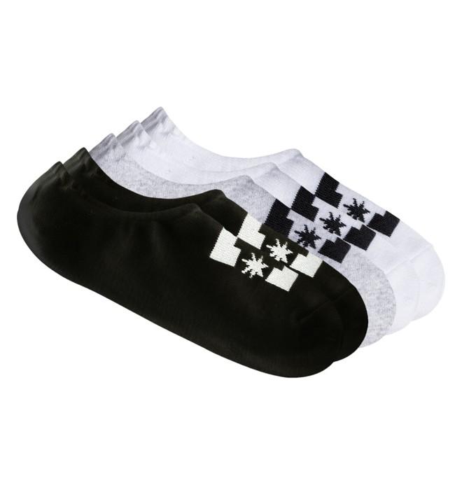 0 SPP DC 3Pk - Liner Socks Black EDBAA03003 DC Shoes