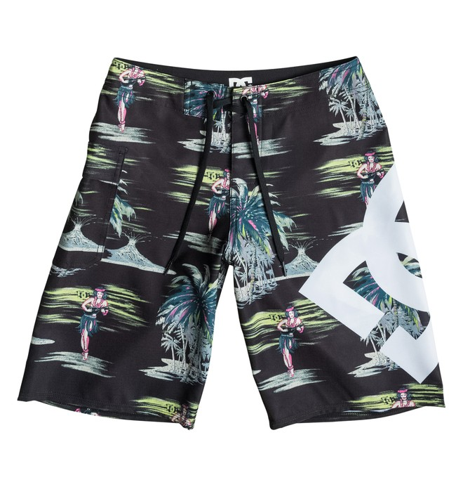 "0 Lanai Print 18"" - Boardshort  EDBBS03006 DC Shoes"
