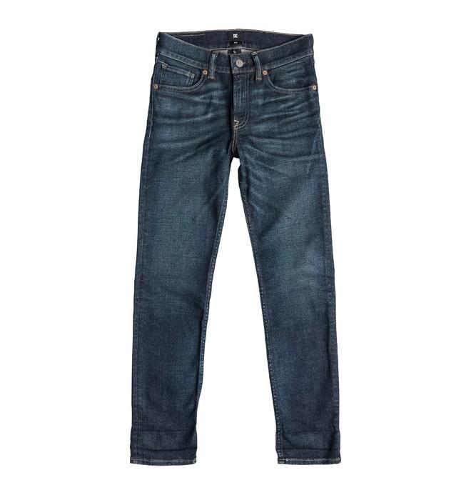 0 Washed Slim Fit Dirty Worn - Jean slim  EDBDP03013 DC Shoes