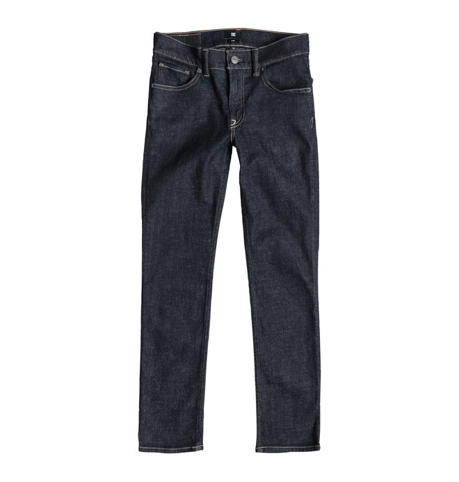 0 Worker Slim Fit Indigo Rinse - Jean slim  EDBDP03015 DC Shoes