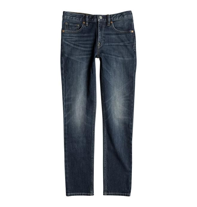 0 Washed Medium Stone - Slim Fit Jeans Blue EDBDP03031 DC Shoes