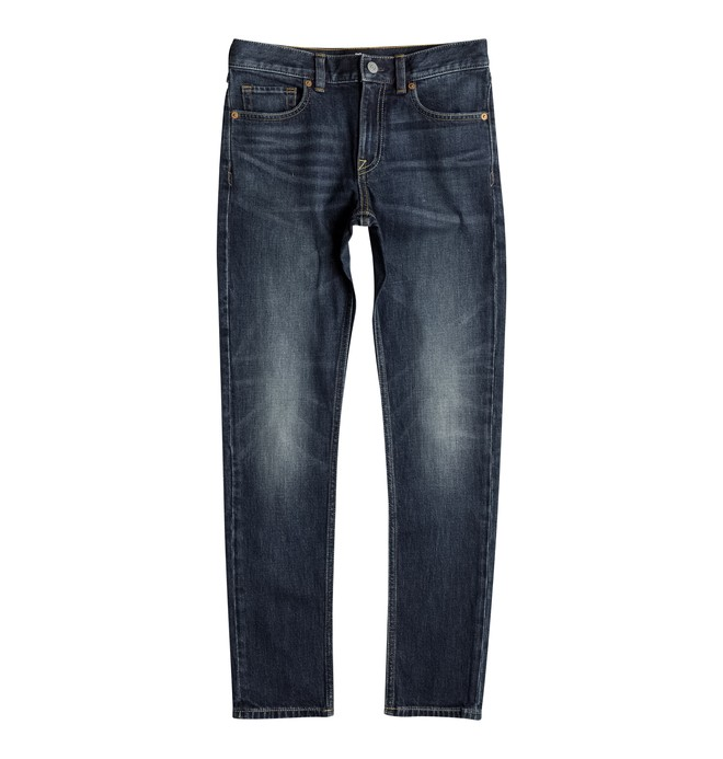 0 Washed Medium Stone - Jean skinny Bleu EDBDP03032 DC Shoes