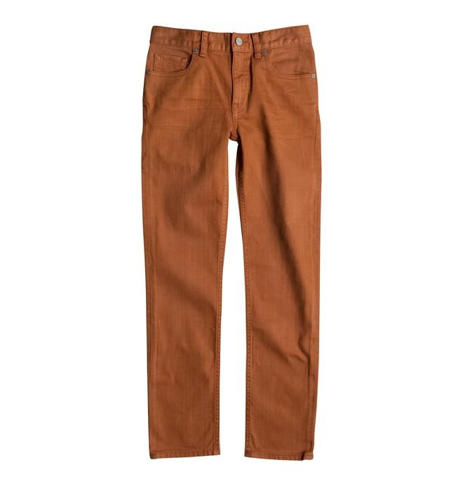 0 Slim Colour - Slim Fit Jeans Brown EDBDP03033 DC Shoes