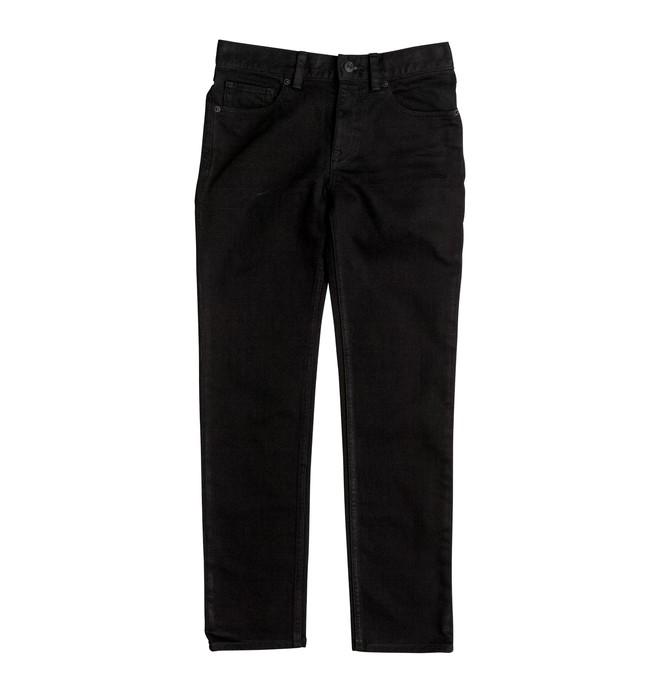 0 Worker Black Rinse - Jean coupe slim Noir EDBDP03035 DC Shoes