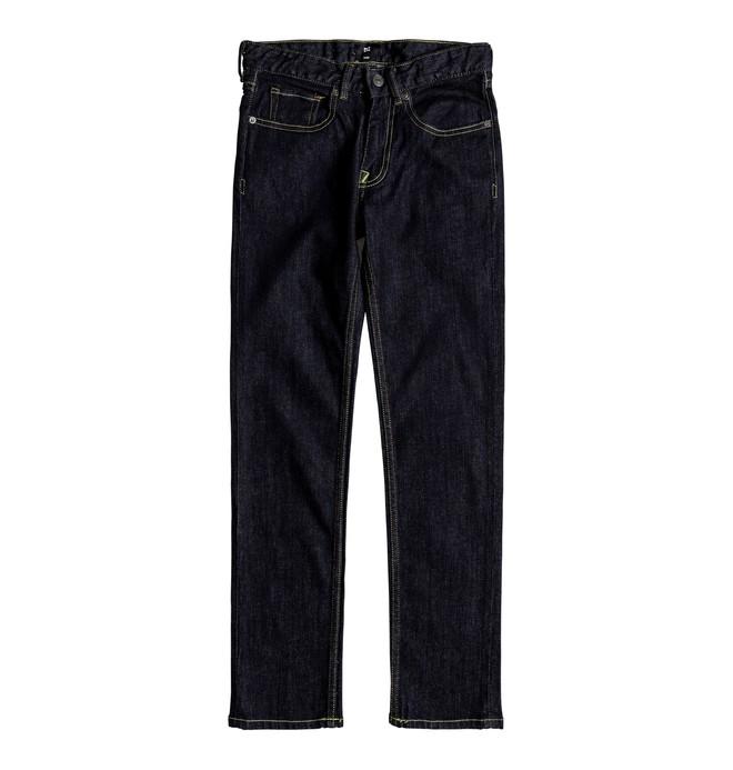 0 Worker Indigo Rinse Slim - Slim Fit Jeans Blue EDBDP03036 DC Shoes