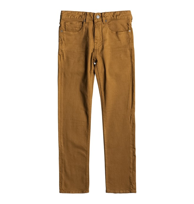 0 Sumner Slim - Jean slim Orange EDBDP03039 DC Shoes