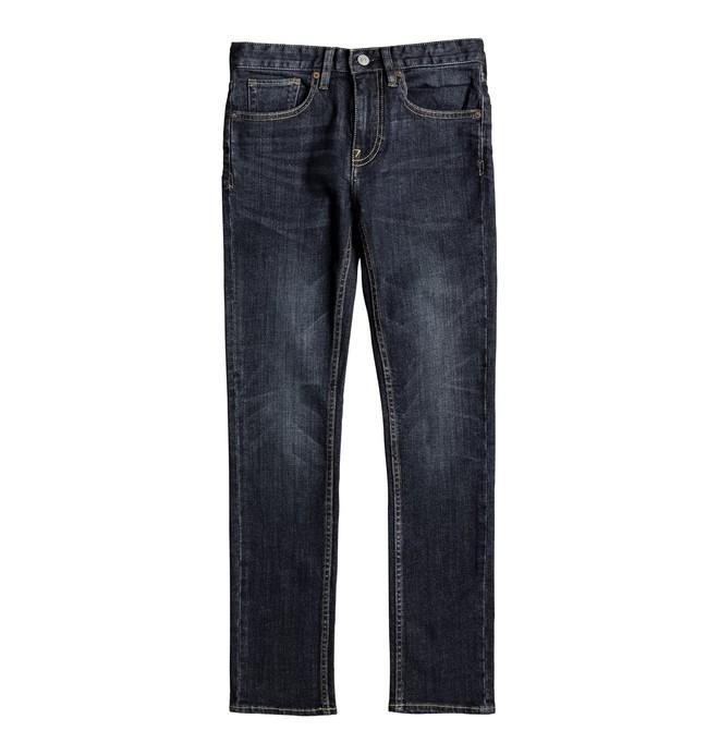 0 Worker Medium Stone Skinny - Jean skinny Bleu EDBDP03040 DC Shoes