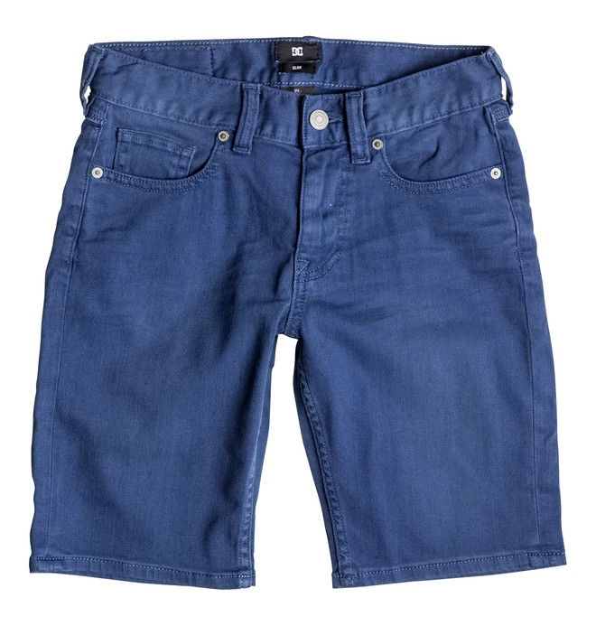 0 Colour Straight - Denim Shorts Blue EDBDS03004 DC Shoes