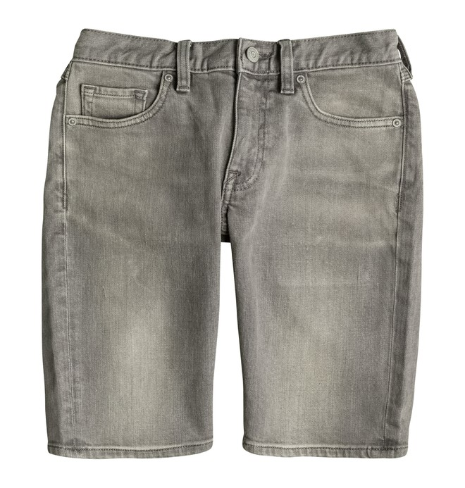 0 Washed Straight - Denim Shorts Grey EDBDS03006 DC Shoes