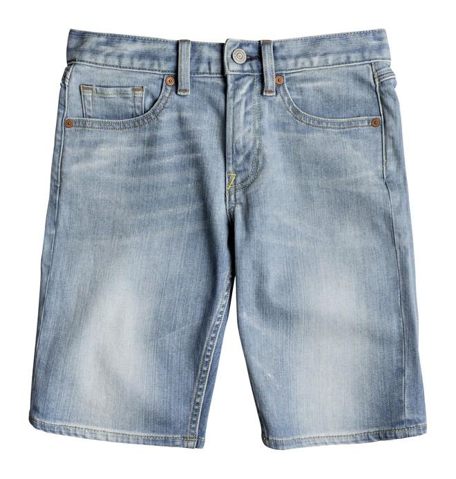 0 Worker Light Indigo Blue - Short en denim Bleu EDBDS03014 DC Shoes