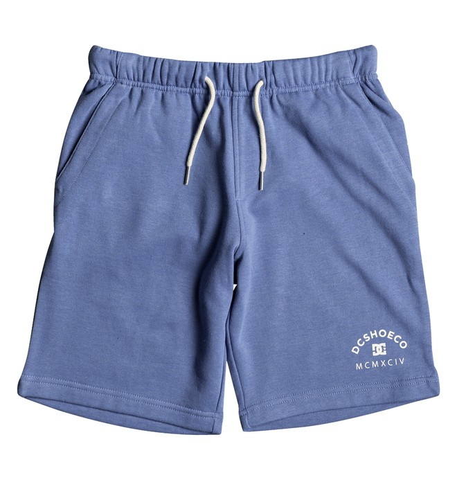 0 Rebel - Sweat Shorts Blue EDBFB03013 DC Shoes