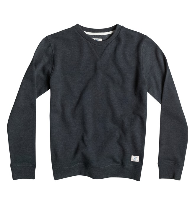 0 Rebel - Sweatshirt Black EDBFT03033 DC Shoes