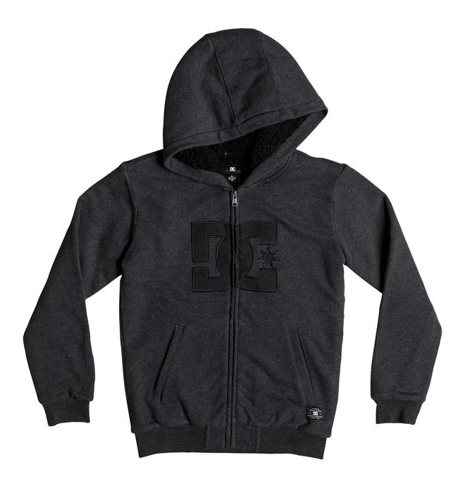 0 Boy's 8-16 Star Sherpa Zip Up Hoodie  EDBFT03093 DC Shoes