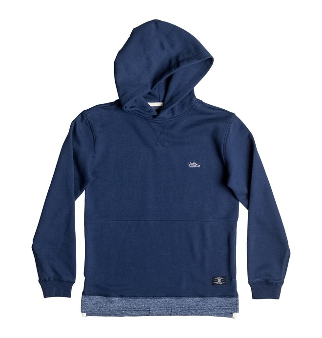 0 Maltby - Sweat à capuche Bleu EDBFT03100 DC Shoes