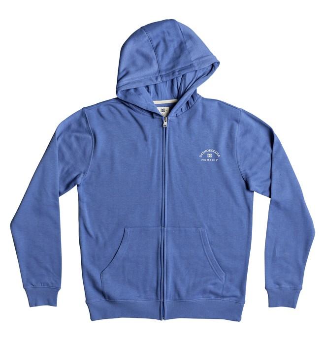 0 Rebel 3 - Sweat à capuche zippé Bleu EDBFT03134 DC Shoes