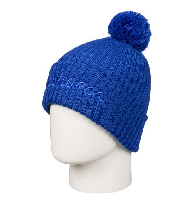 0 Trilogy - Bobble Hat Blue EDBHA03013 DC Shoes