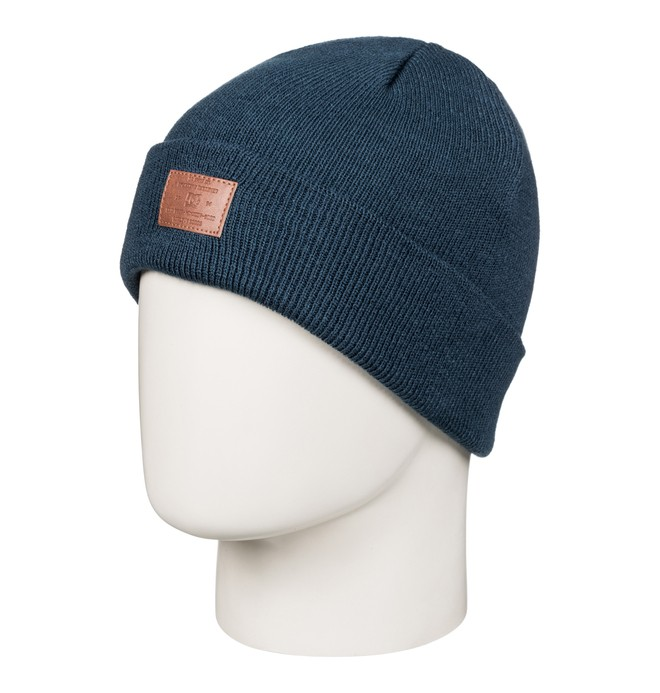 0 Label - Fischerbeanie Blau EDBHA03016 DC Shoes