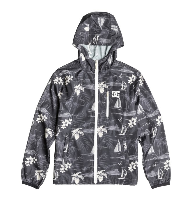 0 Dagup Print - Windbreaker Black EDBJK03005 DC Shoes