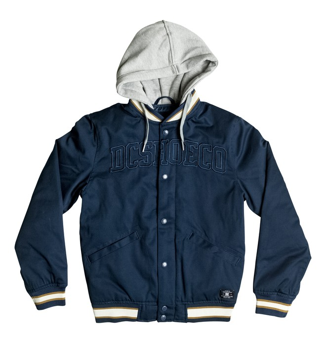 0 Colwood - Varsity Jacket  EDBJK03016 DC Shoes