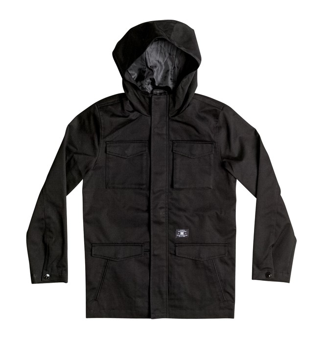 0 Mastadon - M65 Jacket Black EDBJK03017 DC Shoes