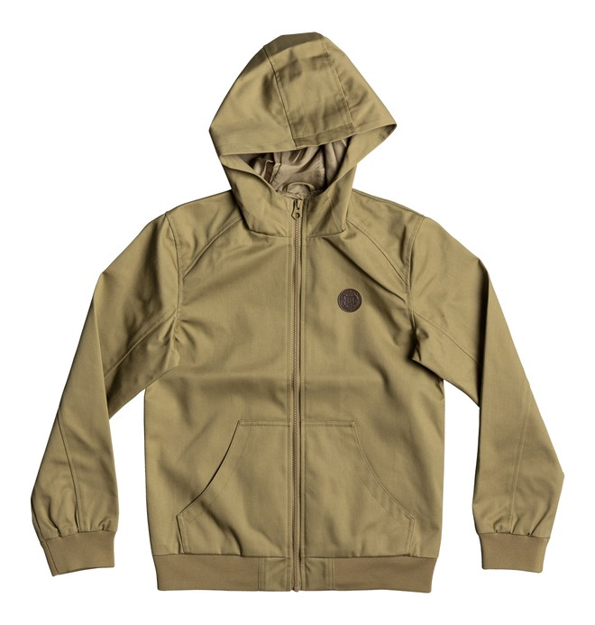 0 Ellis Light 3 - Veste imperméable à capuche Marron EDBJK03028 DC Shoes