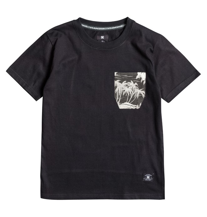 0 Woodglen - T-Shirt Black EDBKT03028 DC Shoes