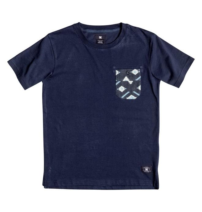0 Lubbock - Pocket T-Shirt Beige EDBKT03060 DC Shoes