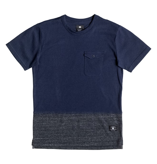 0 Enderlin - Pocket T-Shirt Blue EDBKT03073 DC Shoes