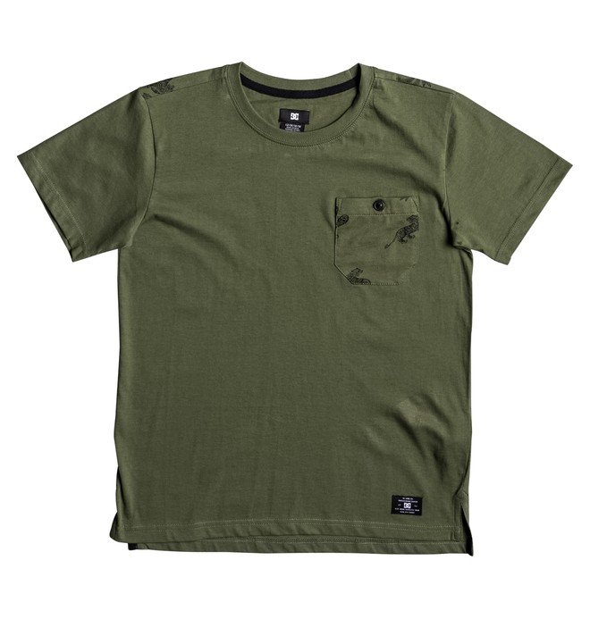 0 Waterglen - T-Shirt Green EDBKT03084 DC Shoes