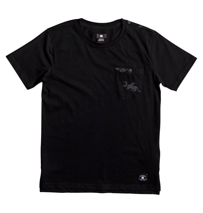 0 Waterglen - T Shirt Noir EDBKT03084 DC Shoes