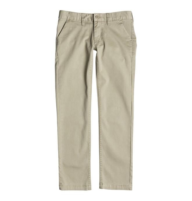 0 Worker Slim Fit Chino - Pantalon chino  EDBNP03002 DC Shoes
