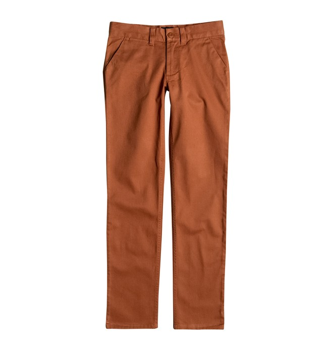 0 Worker Slim Fit - Chinos Brown EDBNP03005 DC Shoes