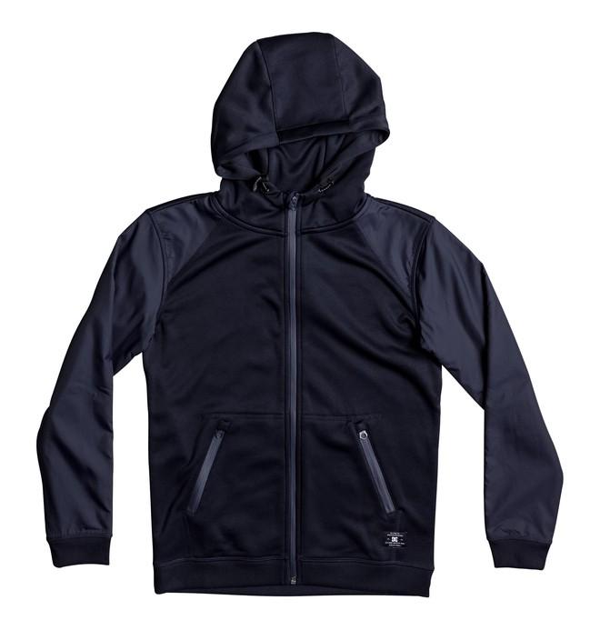 0 Wentley - Zip-Up Polar Hoodie Blue EDBPF03008 DC Shoes