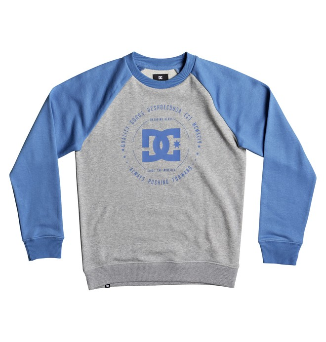 0 Boy's 8-16 Rebuilt Sweatshirt Blue EDBSF03057 DC Shoes