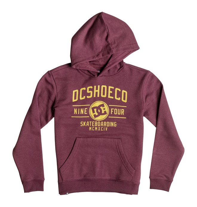 0 Recover - Hoodie Red EDBSF03062 DC Shoes