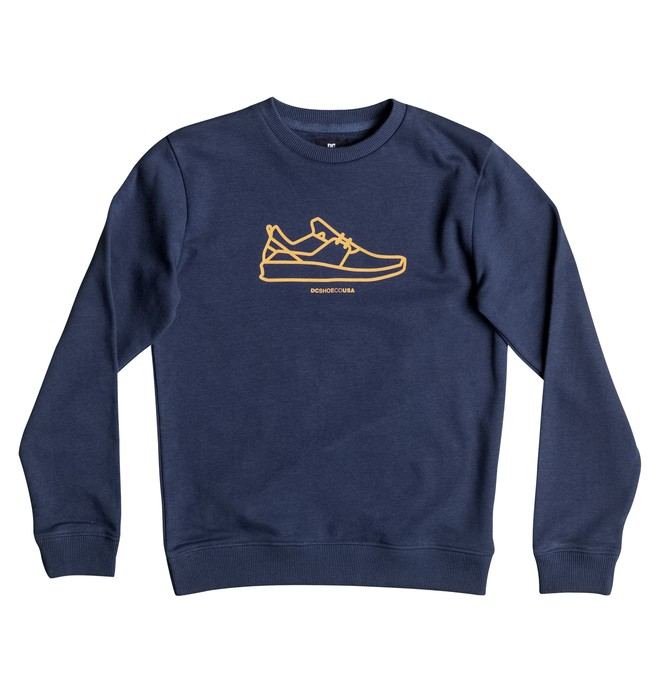 0 Funrow - Sweatshirt Blau EDBSF03069 DC Shoes