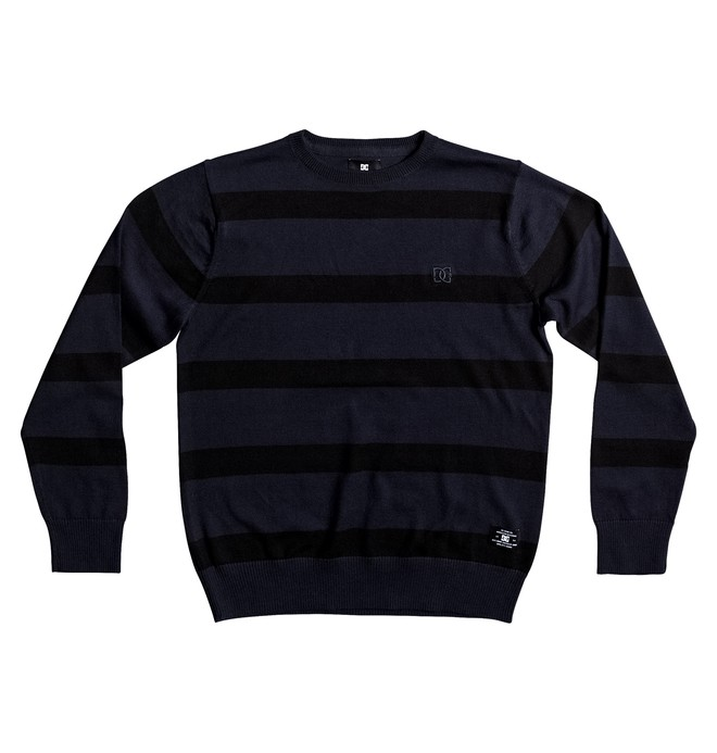 0 Sabotage Stripe - Sweat Bleu EDBSW03012 DC Shoes