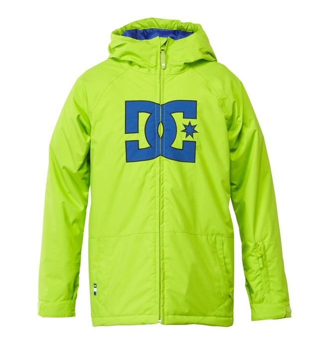 0 Boy's  Story Snow Jacket Green EDBTJ00006 DC Shoes