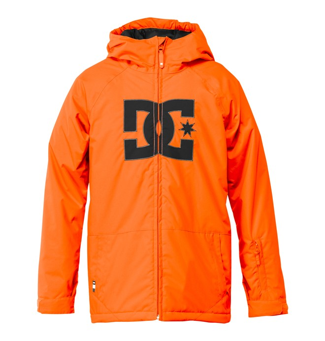 0 Boy's  Story Snow Jacket Orange EDBTJ00006 DC Shoes