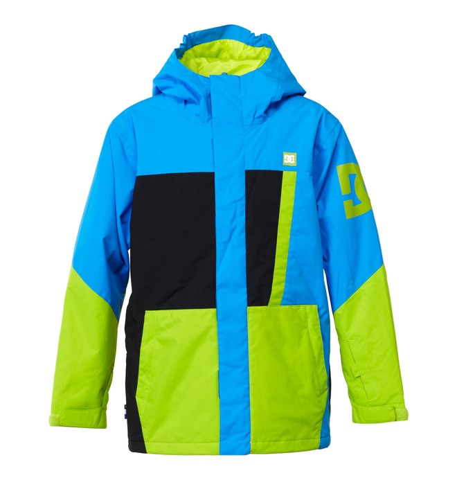 0 Boy's  Amo K 15 Snow Jacket Blue EDBTJ00007 DC Shoes