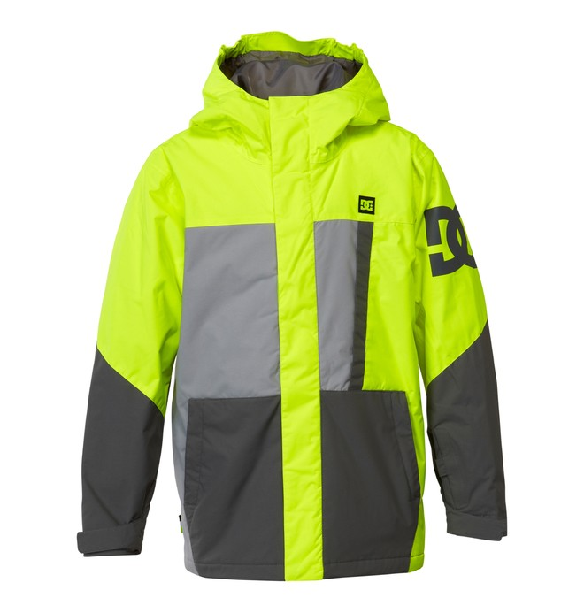 0 Boy's  Amo K 15 Snow Jacket Yellow EDBTJ00007 DC Shoes